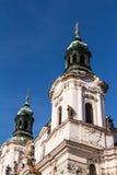 De Kerk van Sinterklaas in Praag Royalty-vrije Stock Afbeelding