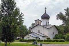 De Kerk van Sinterklaas, Pskov Royalty-vrije Stock Foto's