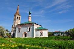 De kerk van Sinterklaas in Suzdal Royalty-vrije Stock Foto