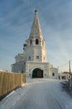 De Kerk van Spasskaya in Balakhna. Rusland Stock Fotografie