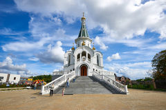 De Kerk van St Alexander Nevsky Kaliningrad Royalty-vrije Stock Foto