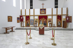 De Kerk van St Cyril en Methodius, Jajinci Stock Foto