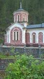 De Kerk van St John Doopsgezind in Mokra Gora, Servië stock afbeeldingen