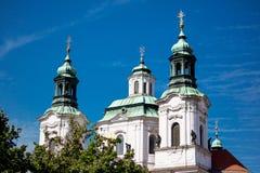 De kerk van St Nicholas stock afbeeldingen