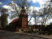 De kerk van Starychwalim, Polen Royalty-vrije Stock Afbeeldingen