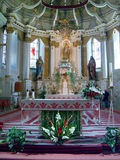 De Kerk van Sumuleu in Roemenië Royalty-vrije Stock Foto's