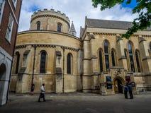 De kerk van de tempel, Londen Royalty-vrije Stock Foto