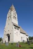 De kerk van Tingstade Royalty-vrije Stock Foto's
