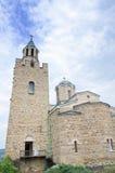 De kerk van Tsarevets-kasteelbolwerk in Veliko Tarnovo, Bulgarije Royalty-vrije Stock Foto