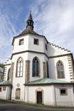 De kerk van Tsjechische Kamenice. royalty-vrije stock foto