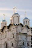 De Kerk van twaalf Apostelen Moskou het Kremlin De Plaats van de Erfenis van de Wereld van Unesco Stock Afbeelding