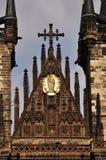 De Kerk van Tyn praag Royalty-vrije Stock Foto