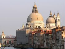 De Kerk van Venetië Stock Foto's