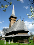 De Kerk van Voda van Bogdan Royalty-vrije Stock Afbeeldingen
