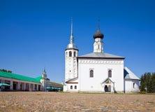De kerk van Voskresenskaya in Suzdal Royalty-vrije Stock Foto's
