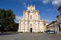 De kerk van Warsaws Royalty-vrije Stock Afbeeldingen