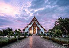 De Kerk van Wat Phra Si Sanphet royalty-vrije stock afbeeldingen