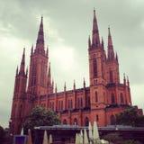 de kerk van Wiesbaden Royalty-vrije Stock Afbeelding
