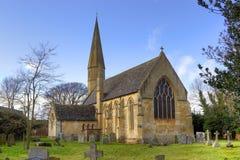 De Kerk van Worcestershire, Engeland Stock Foto
