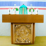 De kerk verandert Stock Foto's