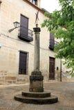 De kerk vierkante Baeza Jaen Spanje van San Andres Stock Foto