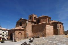 De kerk & x28 van San Miguel; XVth century& x29; , Agreda, Soria, Royalty-vrije Stock Foto