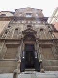 De kerkaka San Filippo Neri van Madonna Di Galliera in Bologna stock afbeeldingen