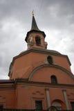 De kerkbouw in Moskou Stock Afbeeldingen