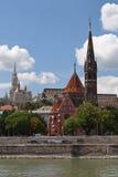 De kerken van Boedapest Stock Foto