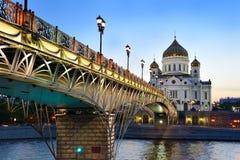 De kerken van Moskou Stock Afbeeldingen