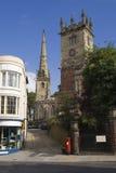 De kerken van Shrewsbury stock afbeelding