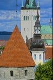 De kerken van Tallinn no.1 Royalty-vrije Stock Foto's