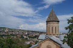 De kerken van Tbilisi Royalty-vrije Stock Foto's