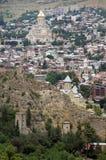 De kerken van Tbilisi Stock Foto
