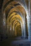 De kerkers van Chateau DE Chillon Stock Fotografie