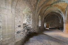 De kerkers van Chillon-Kasteel, Zwitserland royalty-vrije stock fotografie