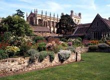 De Kerkkathedraal van Christus, Oxford stock afbeeldingen
