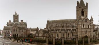 De Kerkkathedraal van Christus, van de verenigde bisdommen van Dublin en Glendalough stock afbeeldingen