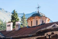 De Kerkkoepel van Rilamonastary stock foto