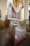 De kerkorgaan van het graniet Stock Foto's