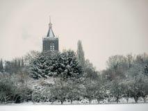 De Kerktoren in Vianen, Nederland Royalty-vrije Stock Afbeelding