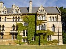 De Kerkuniversiteit van Christus in Oxford, Stock Afbeeldingen