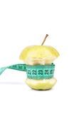 De kern en de meter van Apple Royalty-vrije Stock Afbeeldingen