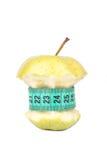 De kern en de meter van Apple Royalty-vrije Stock Fotografie