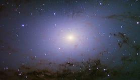 De kerncentrum van de Andromedamelkweg stock afbeeldingen