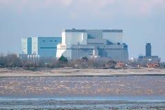 De Kernenergiepost Somerset, het UK van het Hinkleypunt Stock Afbeeldingen