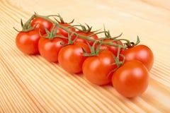De kers van de tomaat Stock Foto's