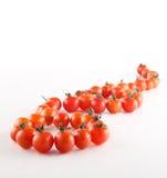 De Kers van tomaten Royalty-vrije Stock Afbeelding