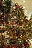 De kerstboom Royalty-vrije Stock Afbeeldingen