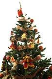 De kerstboom decotared Royalty-vrije Stock Foto's